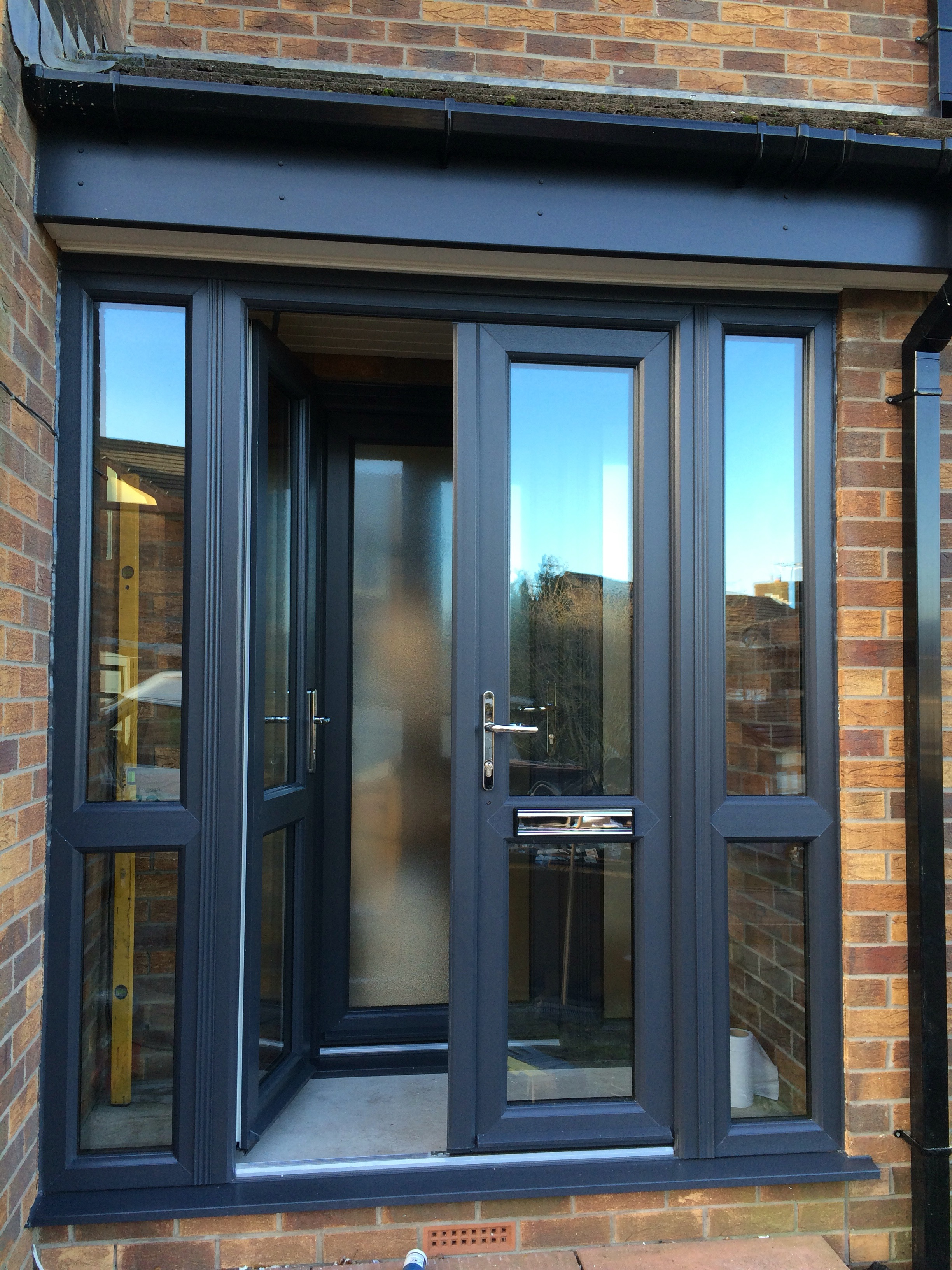 Anthracite Grey Full House Choice Windows Glossop
