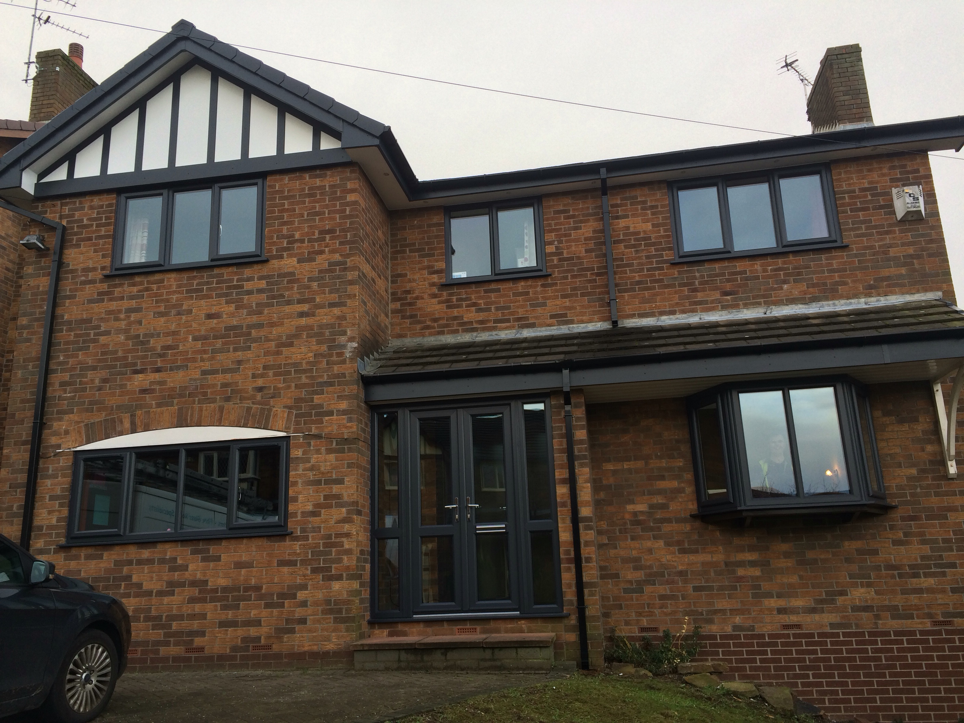 Anthracite grey full house choice windows glossop for Home with windows